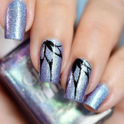 NAIL ART PETALES POINTUES 5