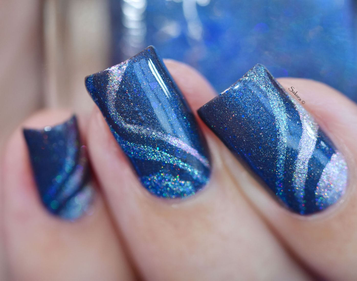 NAIL ART AQUATIC 3