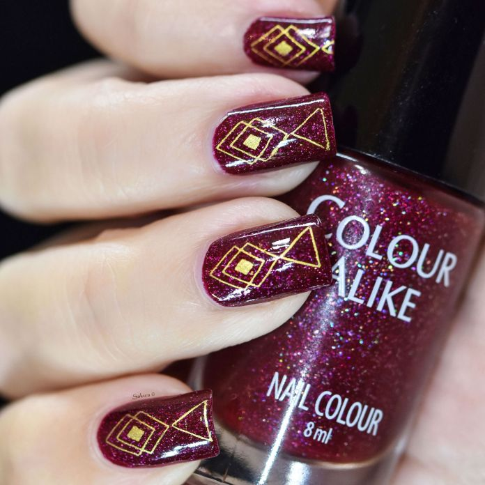 COLOUR ALIKE FUNNY STAMPING OR 3