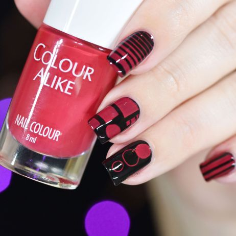COLOUR ALIKE RUBY RED 7