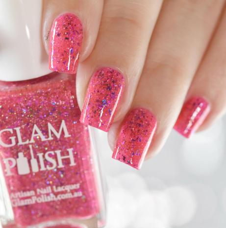 GLAMPOLISH Tropic Like It's Hot 4