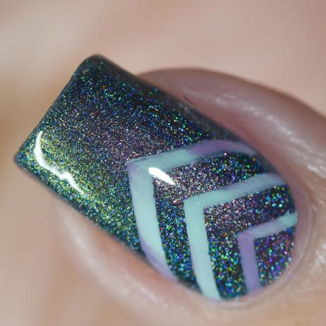 NAIL ART CHEVRONS 4