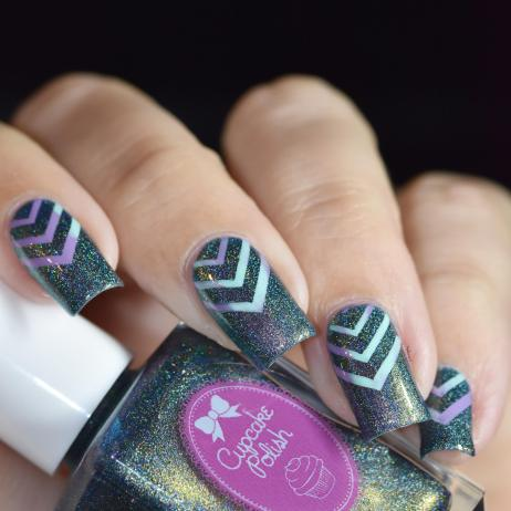 NAIL ART CHEVRONS 7