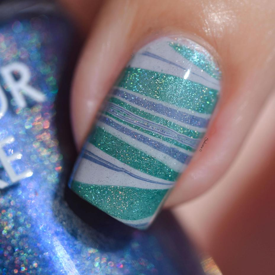 WATERMARBLE BLUE HOLO FASHION 7