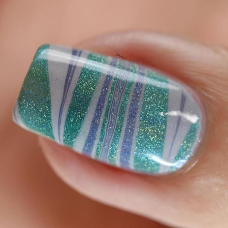 WATERMARBLE BLUE HOLO FASHION