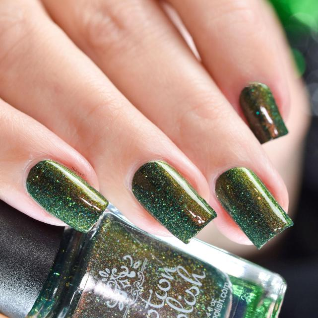 POTION POLISH ENCHANTED EVERGREEN