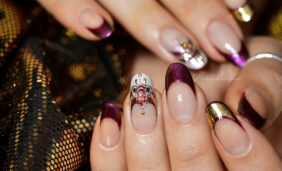 decoration ongles chic