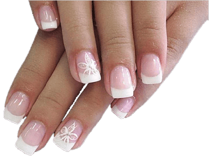 Acrylic Nail Fungus Pictures Moreover Summer French Tip
