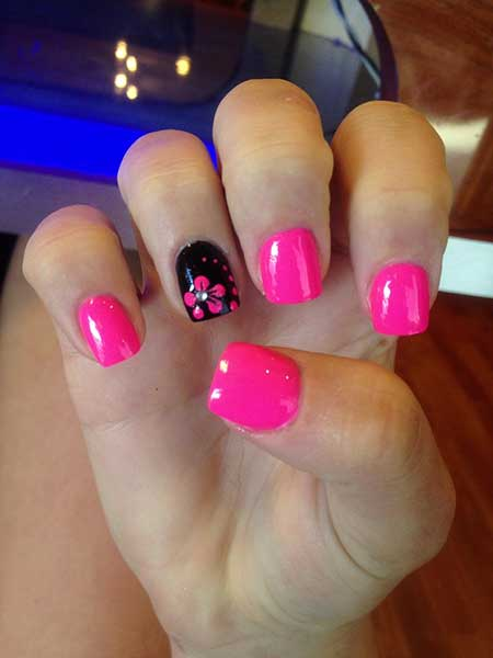 Each Nail A Diffe Color