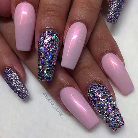 35 Pink Nail Designs 2017 2017051222
