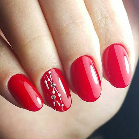 Simple Red Nail Polish Opi Essie Art