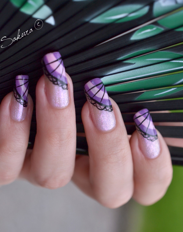 NAIL ART EVENTAIL ASIATIQUE