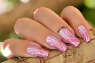 NAIL ART OCTOBRE ROSE 2