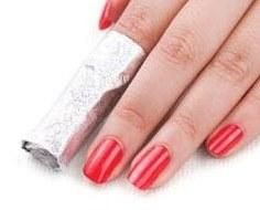 Gel Nails Foil Wrap Method