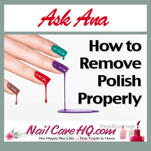 Yellow Nails How To Remove Nail Polish Properly