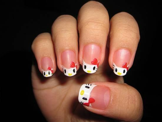 Hello Kitty Nail Art Ideas