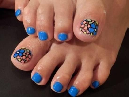 toe nail art designs