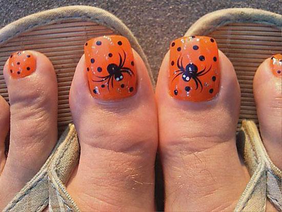 3d Halloween nails