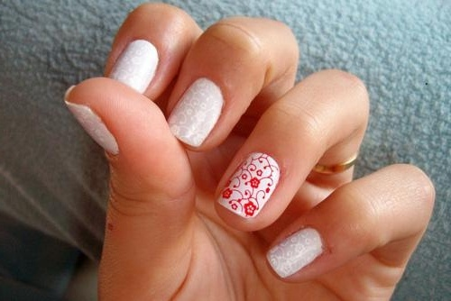 Christmas manicure designs