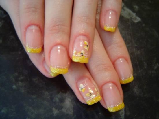 Yellow Nail Designs