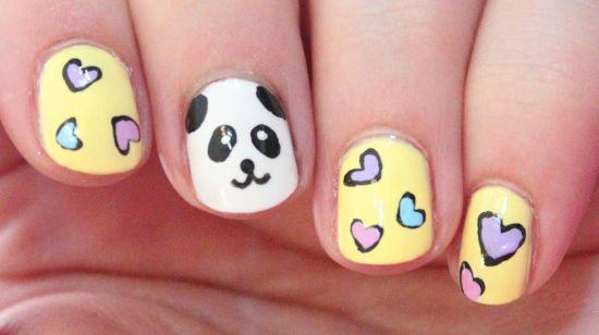Panda Nails
