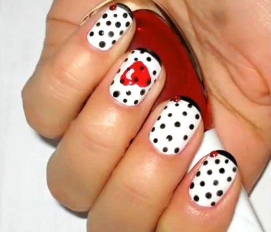 Valentines Nail Designs