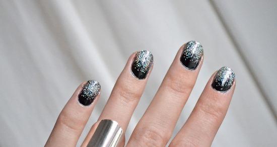 Ombre Glitter Mani
