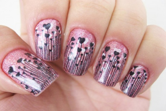 Valentine Nail Designs