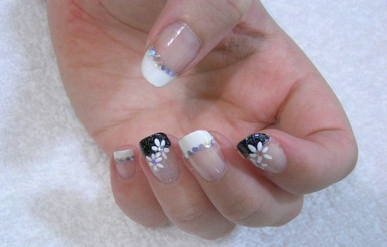 Black White Nail Designs