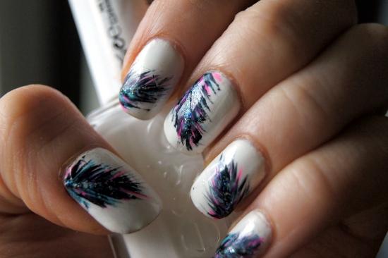 Feather Nail Art Ideas