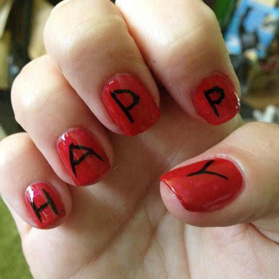 Birthday Nail Art Ideas