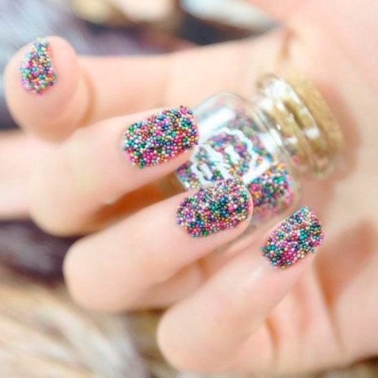 Caviar Nail Art Ideas