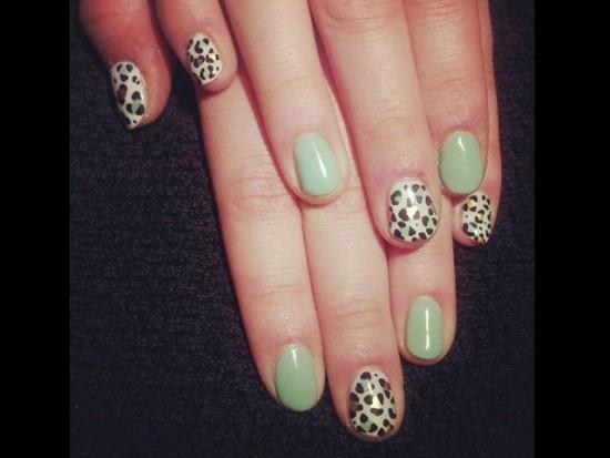 Mint Green Nails