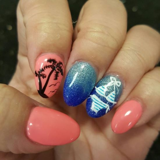 Tropical Nail Designs