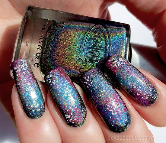 Mysterious Galaxy Nail Art
