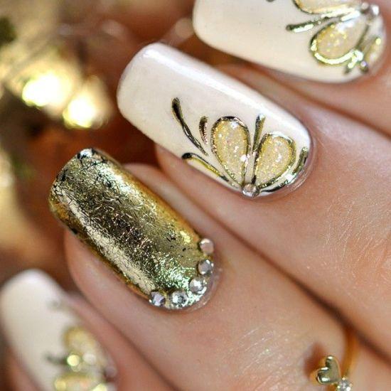 Golden Nails