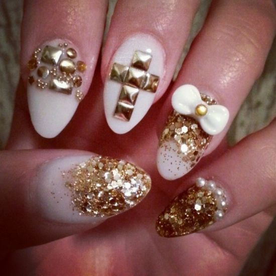 Wedding Nail Art