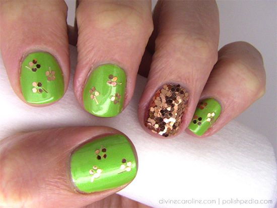 Nail Art For St Patrick Day