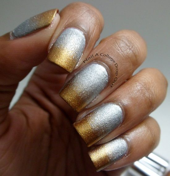 Unusual Glitter Nail Art Pens Thick All About Nail Art Square How To Dry Nail Polish Easy Nail Art For Beginners Step By Step Youthful Nail Polish And Pregnancy BrownNail Fungus Finger 35 Stunning Two Tone Nails Designs | Nail Design Ideaz
