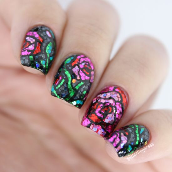 Design Really Amazing Perfect Fall Nail Art View Images Trendy Glitter