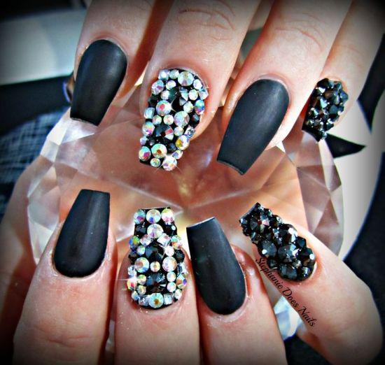 Coffin Style Nails