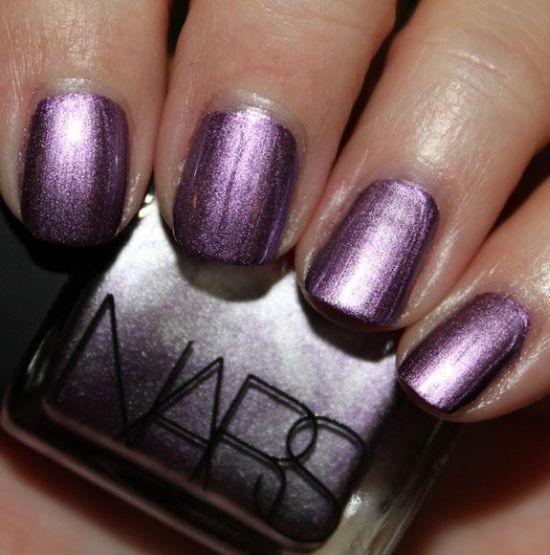 Metallic Nail Art