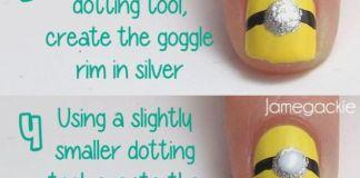 Minion Nail Art Tutorial