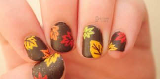 Adorable Fall Inspired Nails