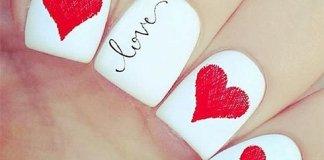 Valentines Nail Design