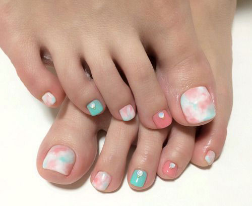 30 undeniably cute toe nails nail design ideaz