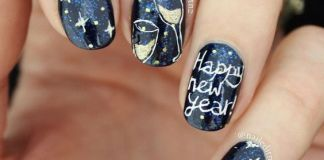 new years nails design