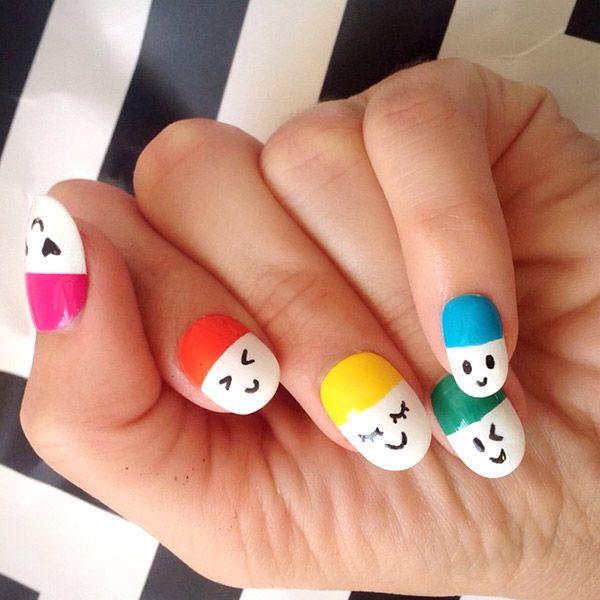 45happy Pills Nail Design