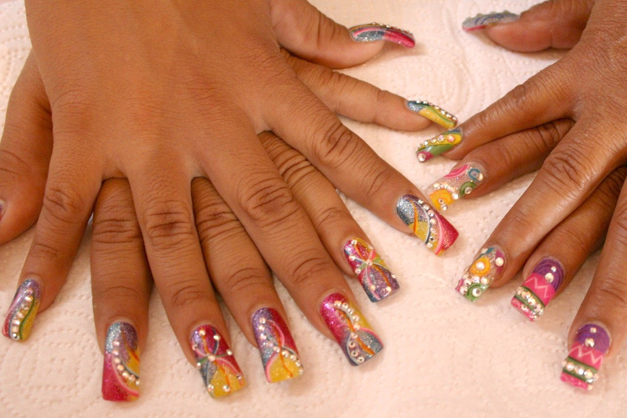 Step By Nail Designs Fingernails