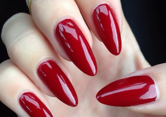 Easy Red Nail Art Designs Ideas For S